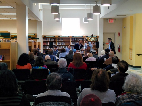 A Jazzy Afternoon, Kings Bay Library